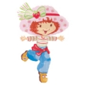 Strawberry Shortcake Foil Balloon Super shape